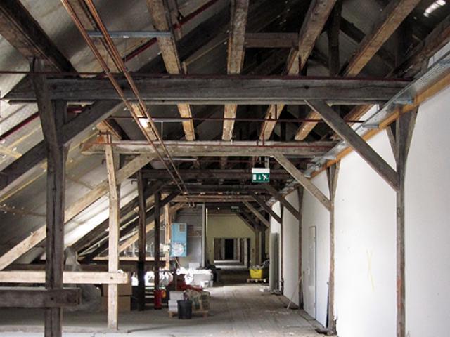 Vorher - Dachaufstockung / Dachausbau der Gebäude 53, 54 und 61