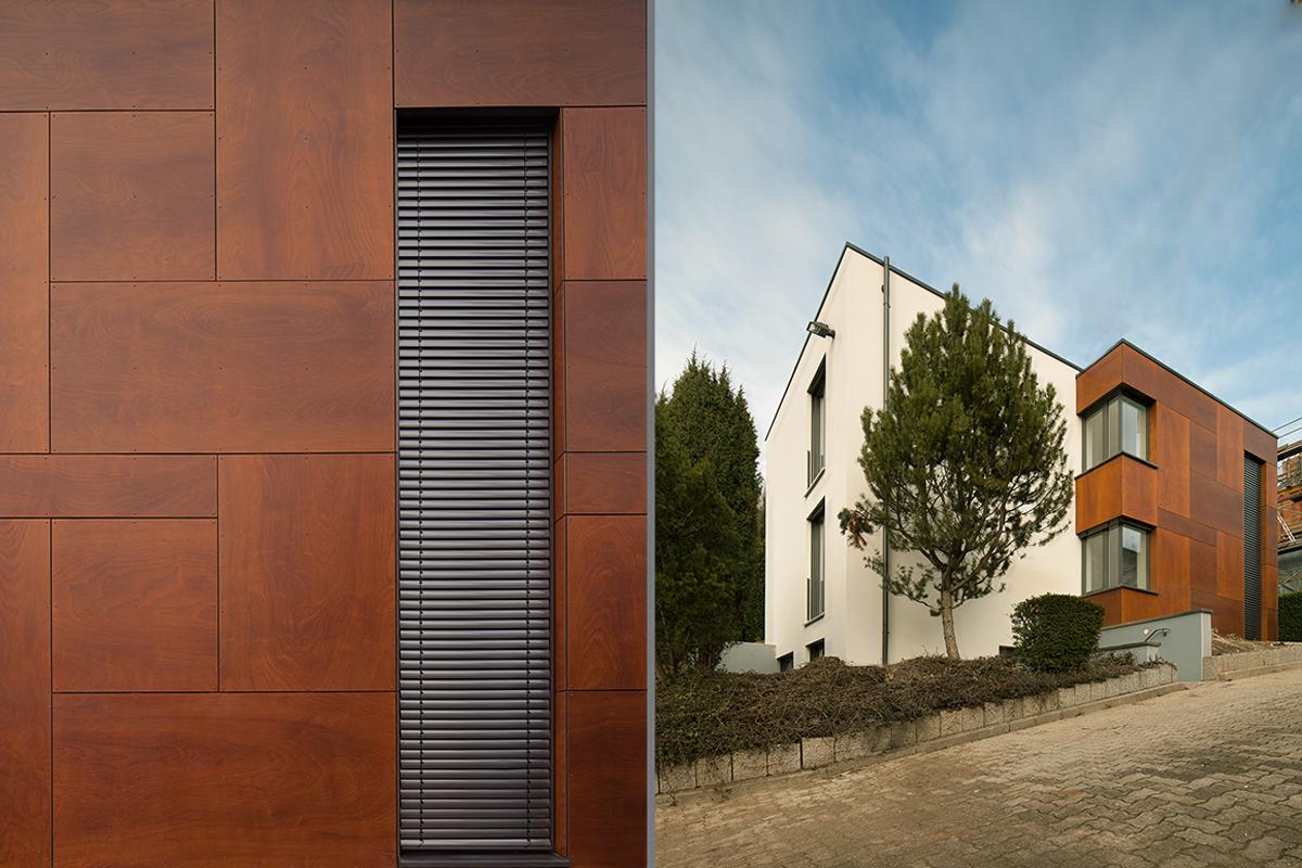 1 Anbau und Umbau eines Einfamilienhauses in Durlach - Perspektive