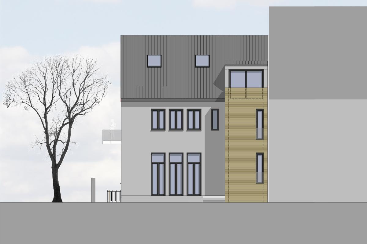 An- / Umbau eines Wohnheims, energetische Sanierung