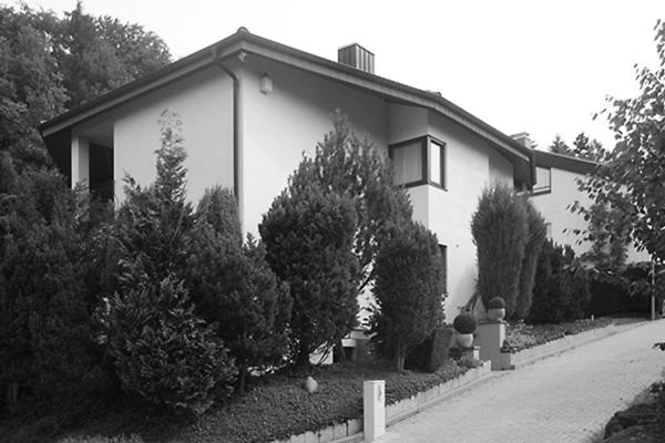 9 Anbau und Umbau eines Einfamilienhauses in Durlach - Ansicht Perspektive