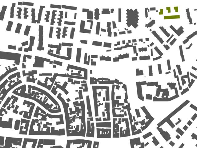 Mehrfachbeauftragung Wohnen in der Pfinzstraße Durlach Schwarzplan