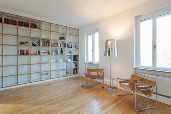 Kernsanierung eines Wohnhauses in Durlach Wohnraum