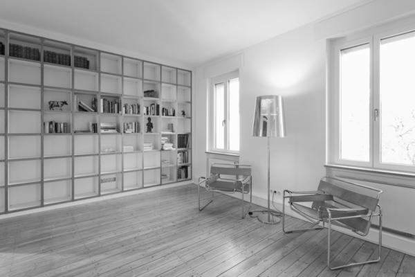 Kernsanierung eines Wohnhauses in Durlach Wohnraum bw