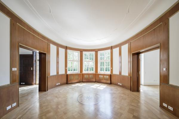 Kernsanierung einer Villa in Karlsruhe - Krüger Architektur