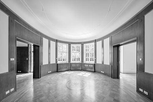 Kernsanierung einer Villa in Karlsruhe