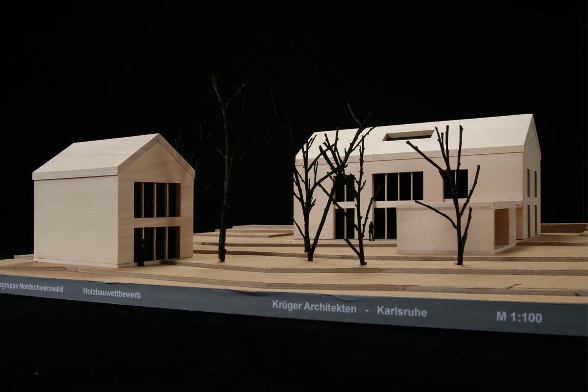 Teilnahme an dem Holzbauwettbewerb der LEADER + Aktionsgruppe Nordschwarzwald 2006 - Krüger Architektur