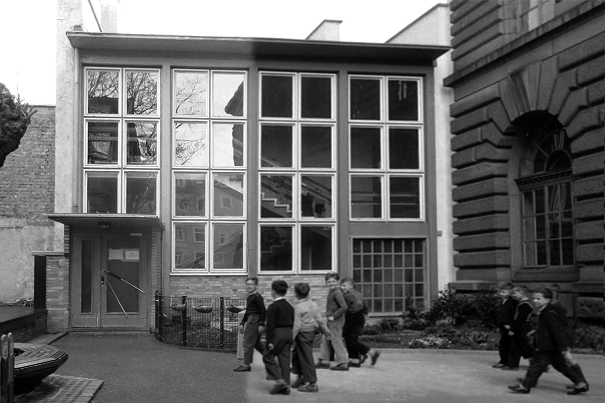 01_Leopoldschule_Zusammenschnitt Neu-Alt sw