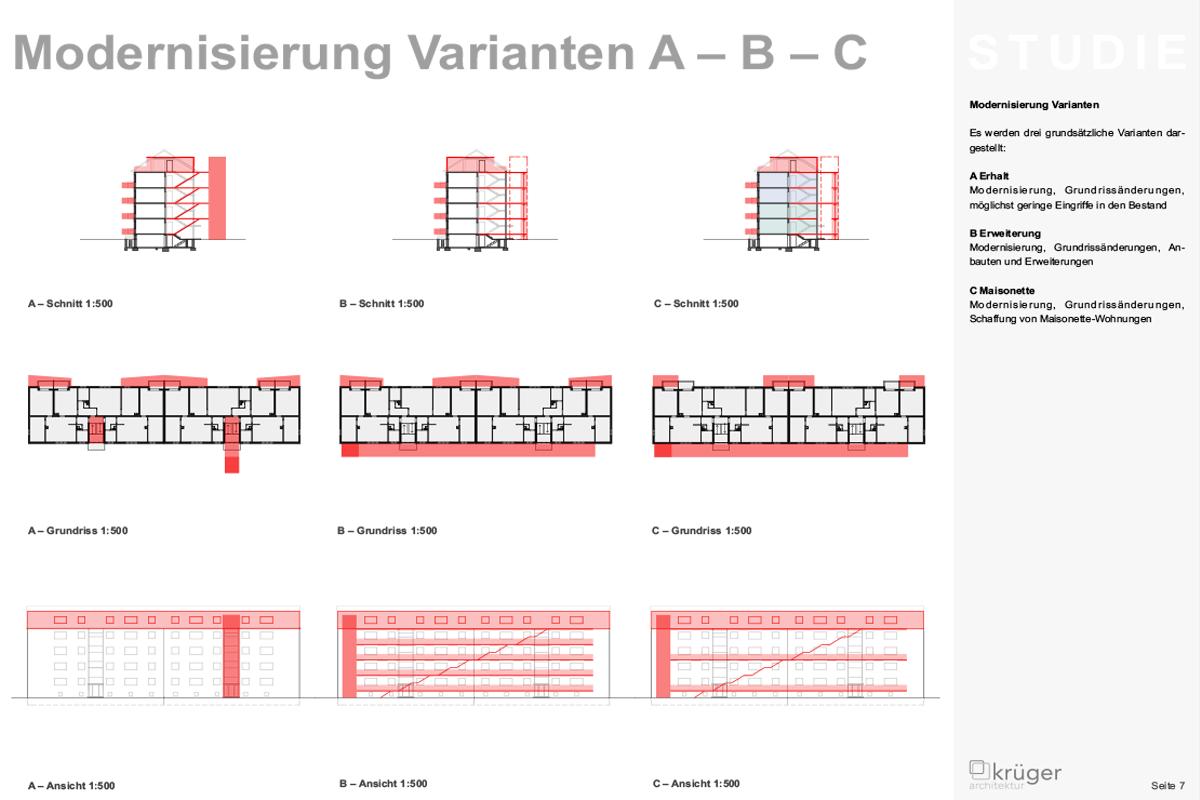 04__Studie Pfinzstraße Durlach Modernisierung Überblick