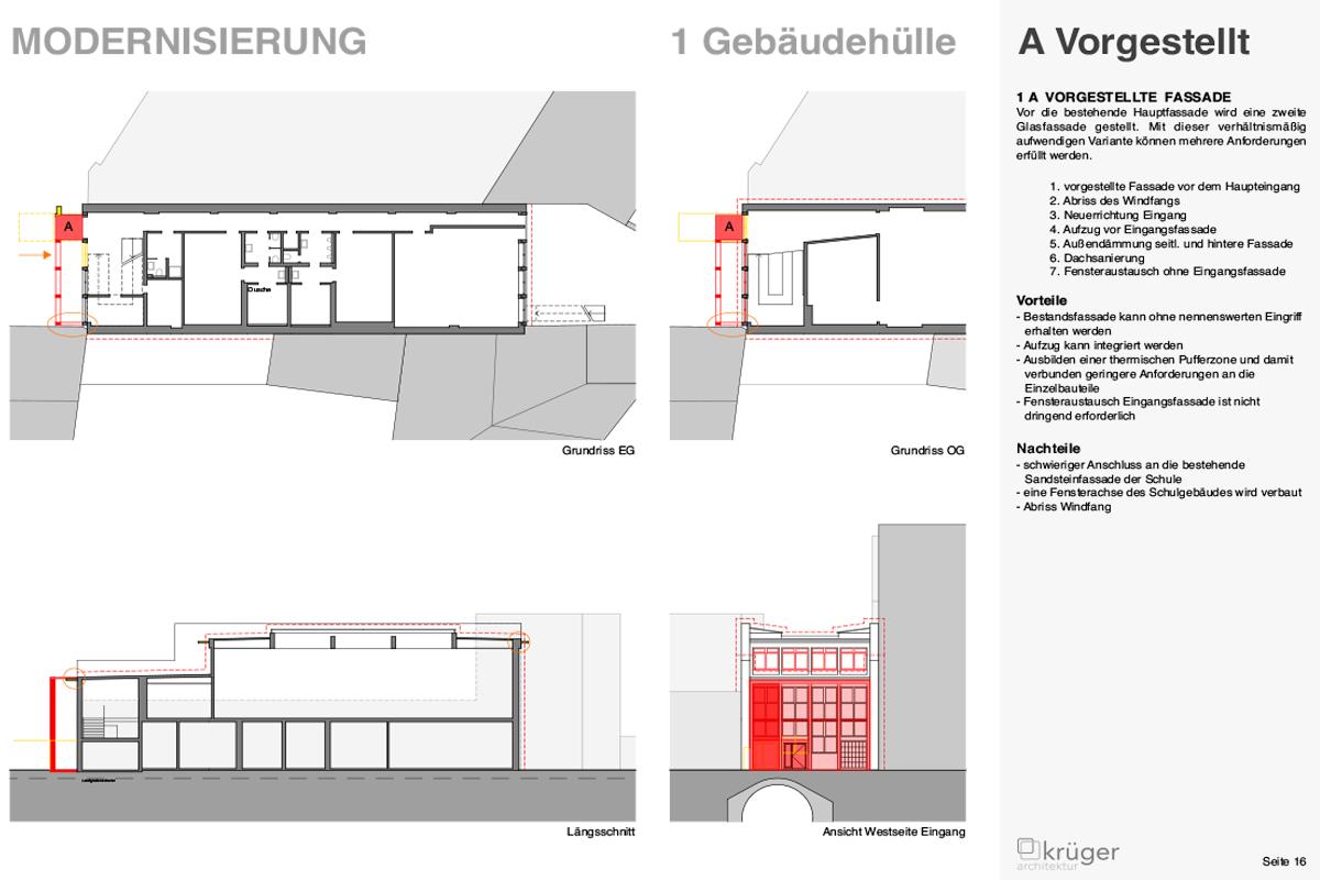 06_Leopoldschule_Vorgestellte Fassade